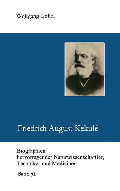 Cover of 'Friedrich August Kekulé'