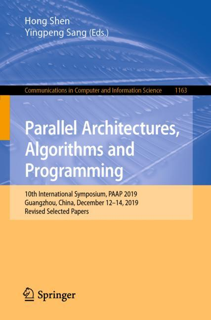Cover of 'Parallel Architectures, Algorithms and Programming'