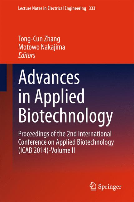 Cover of 'Advances in Applied Biotechnology'