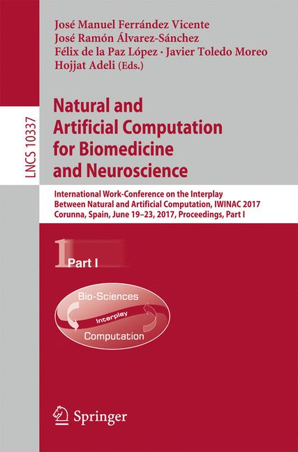 Cover of 'Natural and Artificial Computation for Biomedicine and Neuroscience'