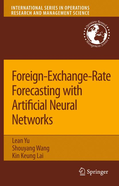 Cover of 'Foreign-Exchange-Rate Forecasting with Artificial Neural Networks'
