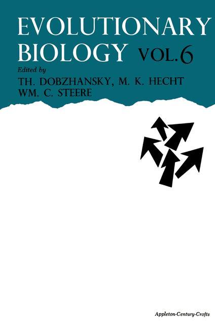 Cover of 'Evolutionary Biology'