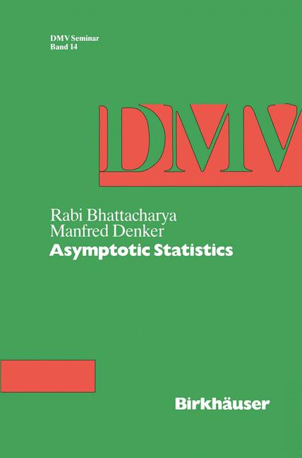 Cover of 'Asymptotic Statistics'