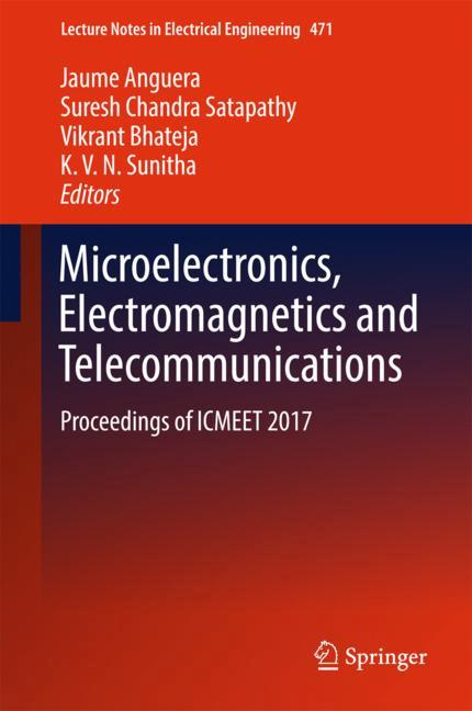 Cover of 'Microelectronics, Electromagnetics and Telecommunications'