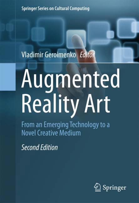 Cover of 'Augmented Reality Art'