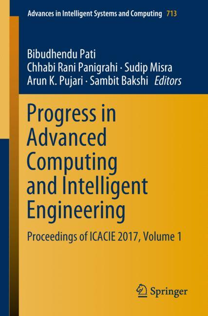 Cover of 'Progress in Advanced Computing and Intelligent Engineering'