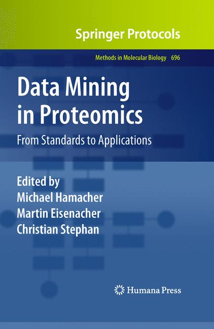 Cover of 'Data mining in proteomics'