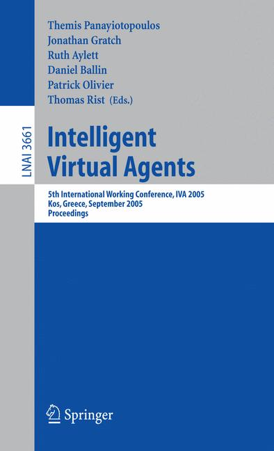 Cover of 'Intelligent Virtual Agents'