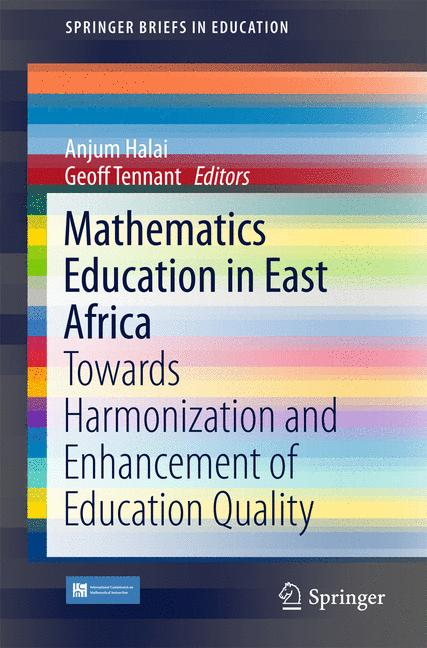 Cover of 'Mathematics Education in East Africa'