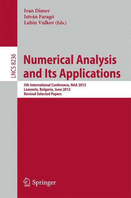 Cover of 'Numerical Analysis and Its Applications'