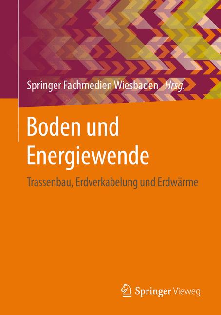 Cover of 'Boden und Energiewende'