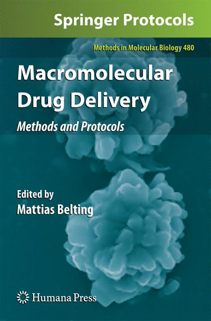 Cover of 'Macromolecular Drug Delivery'