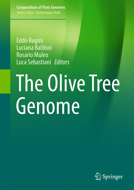 Cover of 'The Olive Tree Genome'