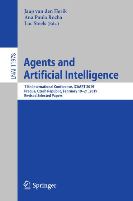 Cover of 'Agents and Artificial Intelligence'