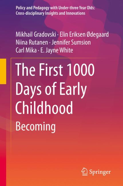 Cover of 'The First 1000 Days of Early Childhood'