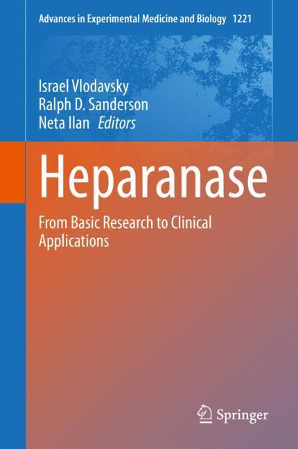 Cover of 'Heparanase'