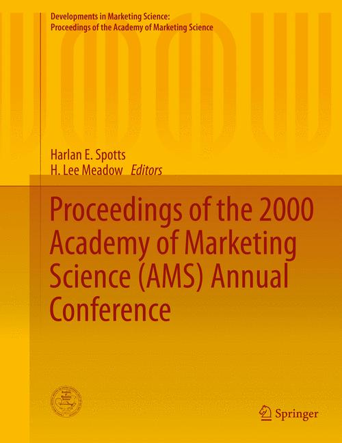 Cover of 'Proceedings of the 2000 Academy of Marketing Science (AMS) Annual Conference'