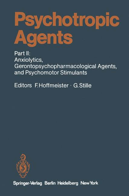 Cover of 'Psychotropic Agents'