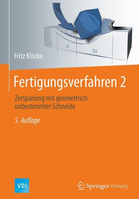 Cover of 'Fertigungsverfahren 2'