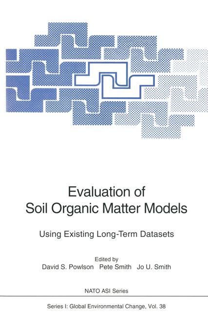 Cover of 'Evaluation of Soil Organic Matter Models'