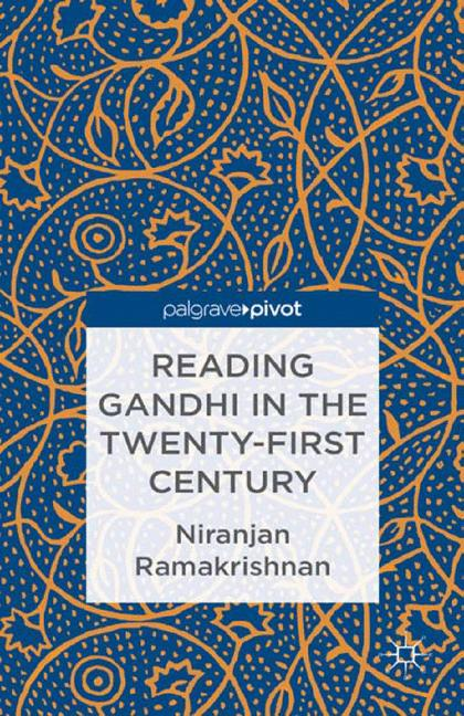 Cover of 'Reading Gandhi in the Twenty-First Century'