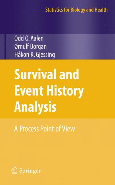 Cover of 'Survival and Event History Analysis : A Process Point of View'