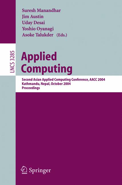 Cover of 'Applied Computing'