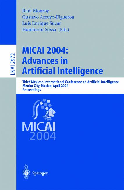 Cover of 'MICAI 2004: Advances in Artificial Intelligence'