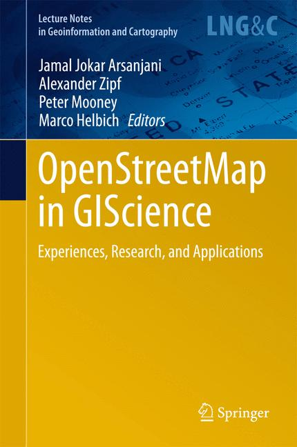 Cover of 'OpenStreetMap in GIScience'