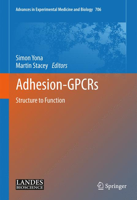 Cover of 'Adhesion-GPCRs structure to function'