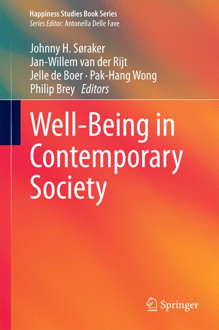 Cover of 'Well-Being in Contemporary Society'