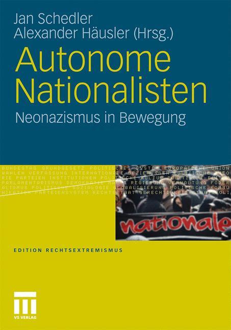 Cover of 'Autonome Nationalisten'