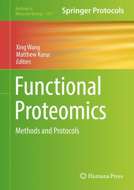 Cover of 'Functional Proteomics'