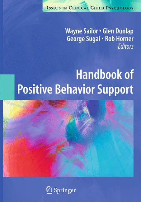 Cover of 'Handbook of Positive Behavior Support'