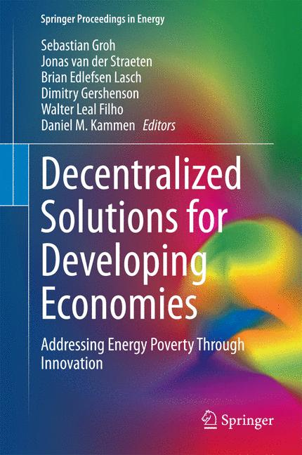 Cover of 'Decentralized Solutions for Developing Economies'