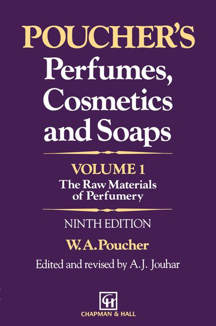 Cover of 'Poucher's Perfumes, Cosmetics and Soaps — Volume 1'