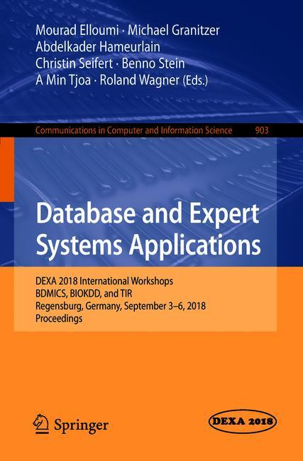 Cover of 'Database and Expert Systems Applications'