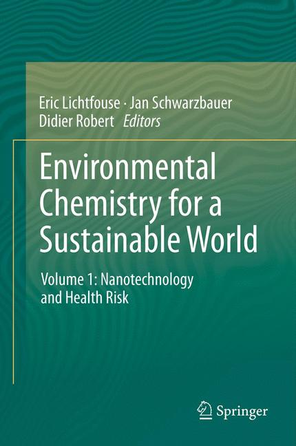 Cover of 'Environmental Chemistry for a Sustainable World'
