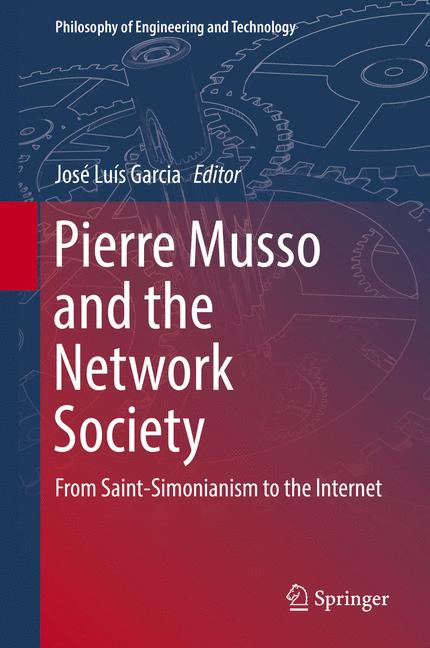 Cover of 'Pierre Musso and the Network Society'