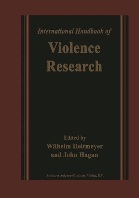 Cover of 'International Handbook of Violence Research'