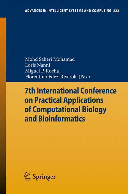 Cover of '7th International Conference on Practical Applications of Computational Biology & Bioinformatics'