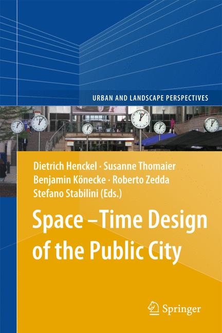 Cover of 'Space–Time Design of the Public City'