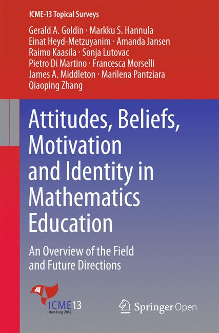 Cover of 'Attitudes, Beliefs, Motivation and Identity in Mathematics Education'