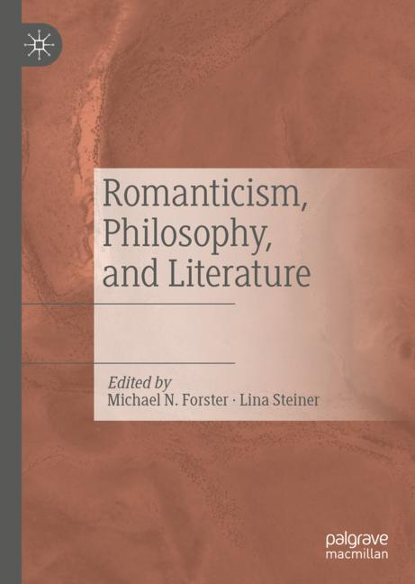 Cover of 'Romanticism, Philosophy, and Literature'