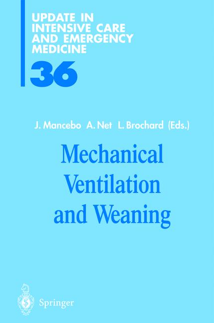 Cover of 'Mechanical Ventilation and Weaning'