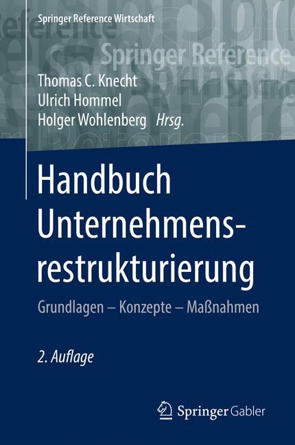 Cover of 'Handbuch Unternehmensrestrukturierung'
