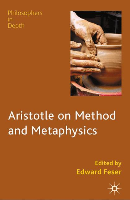 Cover of 'Aristotle on Method and Metaphysics'