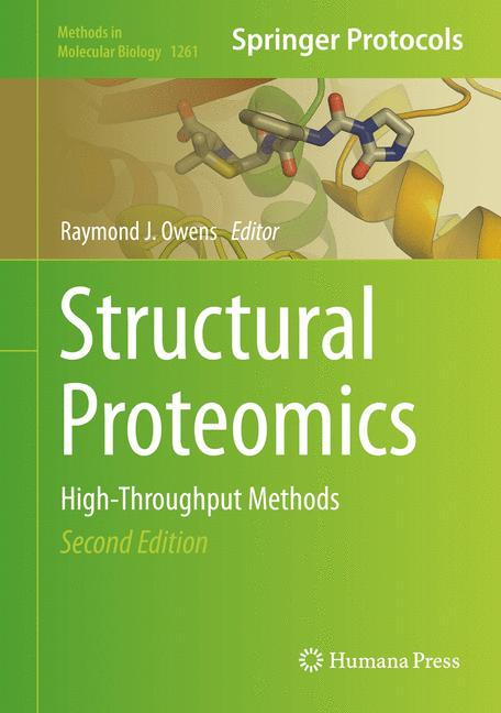 Cover of 'Structural Proteomics'