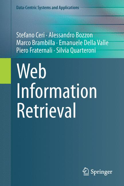 Cover of 'Web Information Retrieval'