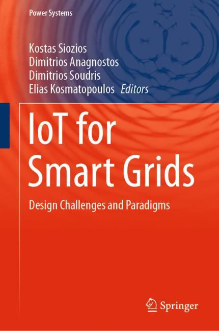 Cover of 'IoT for Smart Grids'